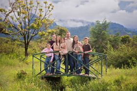 The Gilbert family in Volcan, Panama – Best Places In The World To Retire – International Living