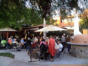 The cafe at Los Labradores, outside of San Miguel de Allende, Mexico where there is an assisted living facility, – Best Places In The World To Retire – International Living
