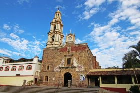 The church near the plaza in Ajijic, Mexico – Best Places In The World To Retire – International Living