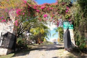 The entrance to Tom Leonard's hotel, Hotel Perico, Lake Chapala, Mexico – Best Places In The World To Retire – International Living