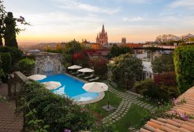 The pool at Belmond Casa de Sierra Nevada, San Miguel de Allende, Mexico  – Best Places In The World To Retire – International Living
