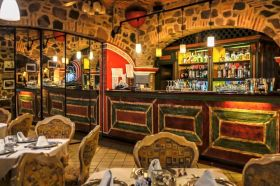 The restaurant at La Posada Nueva, Ajijic, Mexico – Best Places In The World To Retire – International Living
