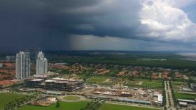 Town Center Mall in Costa del Esta under construction and under cloud cover, Panama – Best Places In The World To Retire – International Living
