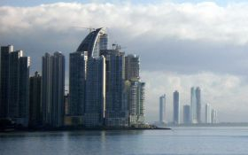 Trump Tower in Punta Pacifica, Panama towers above the Bay of Panama – Best Places In The World To Retire – International Living