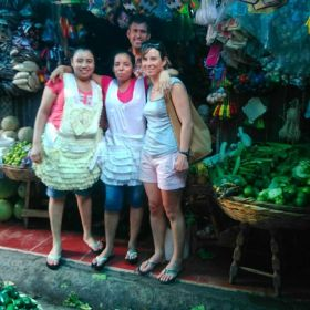 US expats with Nicaragua shopkeepers and friends, San Juan del Sur, Nicaragua – Best Places In The World To Retire – International Living