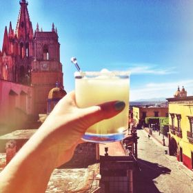 View of the nearby mountains from a rooftop in San Miguel Allende, Mexico – Best Places In The World To Retire – International Living