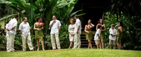Wedding at gardens at Chaa Creek, Cayo District, Belize – Best Places In The World To Retire – International Living