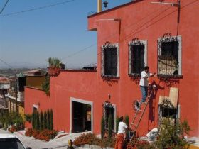 Wrought iron grills on windows, San Miguel de Allende, Mexico – Best Places In The World To Retire – International Living