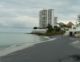 black sand beach and condo in Coronado, Panama – Best Places In The World To Retire – International Living