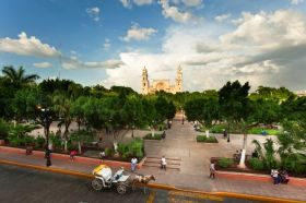 Plaza in Colonial Merida, Mexico – Best Places In The World To Retire – International Living