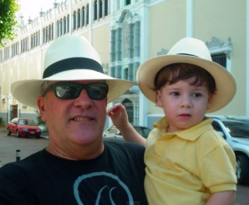 Gonzalo de la Guardia and grandson in Casco Viejo – Best Places In The World To Retire – International Living