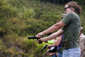 pistol gun shooting range women  – Best Places In The World To Retire – International Living