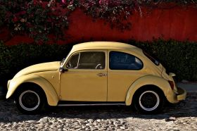 VW bug parked on a cobblestone street in Bucerías, Mexico – Best Places In The World To Retire – International Living
