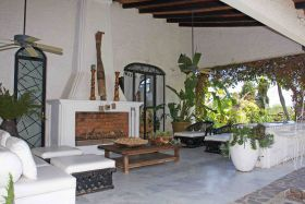 Amazonas, a house in Rancho del Oro, Ajijic, outside entertaining space – Best Places In The World To Retire – International Living