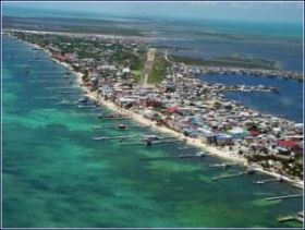Ambergris Caye as viewed from the air – Best Places In The World To Retire – International Living