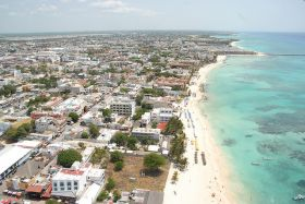 Arial view of Playa del Carmen, Mexico – Best Places In The World To Retire – International Living
