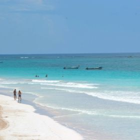 Beach in Yucatan with two people – Best Places In The World To Retire – International Living