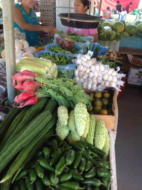 Belize food market with produce shown – Best Places In The World To Retire – International Living