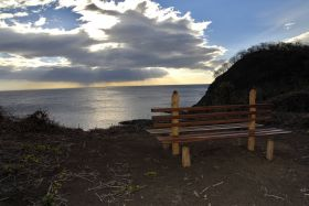 San Juan del Sur sunset viewed from wooden bench looking at ocean – Best Places In The World To Retire – International Living