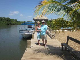 Boat dock in Hopkins, Belize – Best Places In The World To Retire – International Living