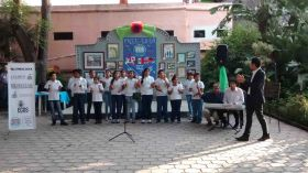 Local Mexican children performing at Lake Chapala Society LCS