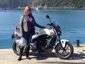 Woman with motorcycle in Turkey – Best Places In The World To Retire – International Living