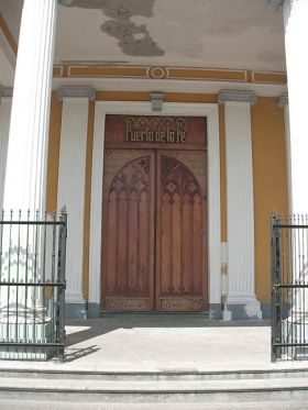 Door ro the cathedral in Granada, Nicaragua – Best Places In The World To Retire – International Living