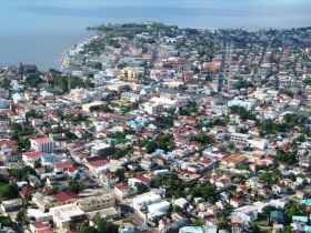 Downtown Belize City Arial View – Best Places In The World To Retire – International Living