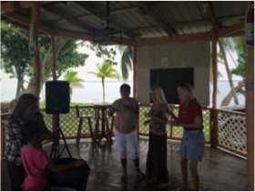 Expats Birthday party at a local Bar in Corozal, Jam Rock – Best Places In The World To Retire – International Living
