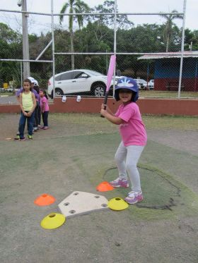 Girl batter in Panama Princess League, in Boquete – Best Places In The World To Retire – International Living