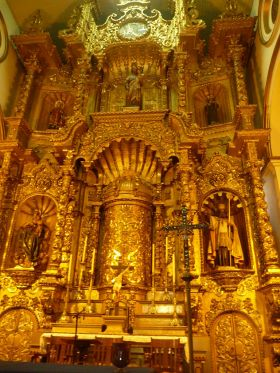Gold Altar at St Joseph's Church in Panama – Best Places In The World To Retire – International Living