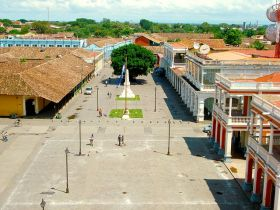 Granada, Nicaragua, arial view of plaza – Best Places In The World To Retire – International Living