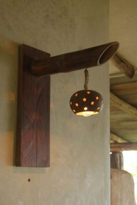 Hand made wooden lamp made in Pedasi Panama – Best Places In The World To Retire – International Living