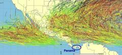 Map of hurricanes in Panama – Best Places In The World To Retire – International Living