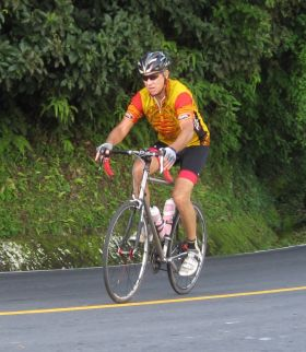 Neil Stein riding a bike in El Valle de Anton, Panama – Best Places In The World To Retire – International Living