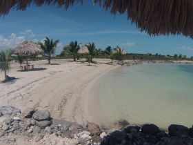 In back of Blackbeards Bar, Cerros Sands, Corozol, Belize – Best Places In The World To Retire – International Living