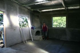 Inside of Nicaragua home not yet finished construction – Best Places In The World To Retire – International Living