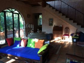 INside rental home in Ajijic, Mexico