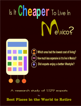 Mexico cost of living research study cover