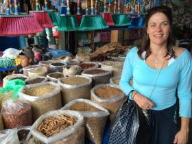Kristin Lamoureux at Punta Gorda Market, Belize – Best Places In The World To Retire – International Living