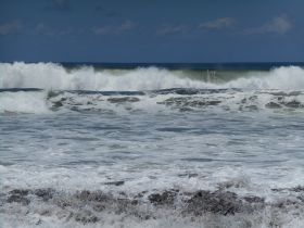 Waves crashing off Las Olas, Panama – Best Places In The World To Retire – International Living