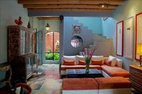 Living room in a colonial home, San Miguel de Allende, Mexico – Best Places In The World To Retire – International Living