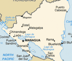 Map of Nicaragua showing expat communities – Best Places In The World To Retire – International Living