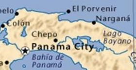 Map of Panama showing Lake Bayano – Best Places In The World To Retire – International Living