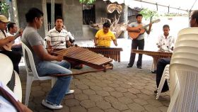 Musicians in Nicaragua playing marimba – Best Places In The World To Retire – International Living