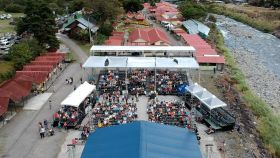Overhead view of Boquete Jazz Festival – Best Places In The World To Retire – International Living