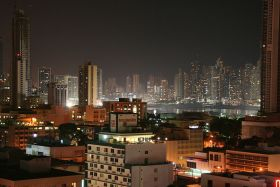Panama City, Panama skyline at night – Best Places In The World To Retire – International Living