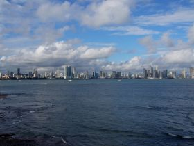 Panama City, Panama, as viewed from the ocean – Best Places In The World To Retire – International Living