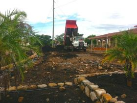 Panama dump truck at residential construction site – Best Places In The World To Retire – International Living