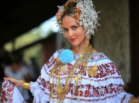 Panamanian woman in a pollera – Best Places In The World To Retire – International Living